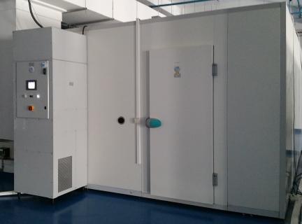 Chambre climatique ICH avec CTA exterieure